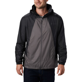 Columbia Point Park Windbreaker Kurtka Mężczyźni, city grey/black